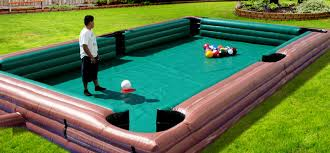 life size pool table party rentals maryland dc area ultimate amusements