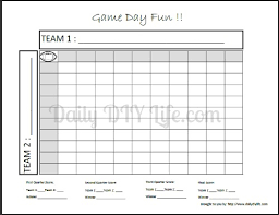 Free Football Pool Templates - April.onthemarch.co
