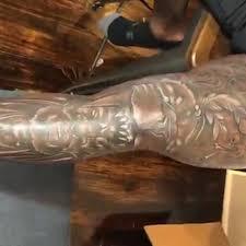 Saints Star Alvin Kamara Covers Both Legs In Big Ass Tattoos