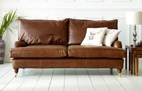holbeck vintage 3 seater leather couch