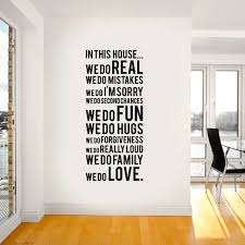 Decorating White Walls - Wall Decals the words i like ...might change them