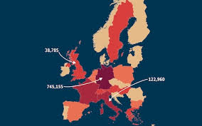 The Maps And Charts That Explain How Europes Refugee Crisis