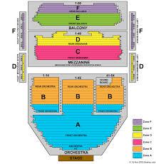 ahmanson theatre seating chart