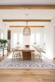 Een Vloerkleed Onder De Eettafel Prachtig Eigen Huis En Tuin