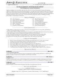 Sales Executive Sample Resume Prepasaintdenis Com