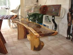 Rosewood Bedroom Furniture Exotic Bench From Indian Rosewood Cocobolo Wood Log Furniture