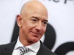wealthy Jeff Bezos ...