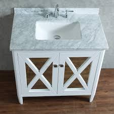 white single sink bathroom vanities. Ariel By Seacliff Summit 36\ White Single Sink Bathroom Vanities I