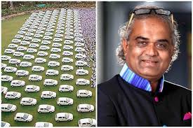 savji dholakia the renowned diamond trader from gujarat is into the headlines once again for an obvious reason the owner of shri hari krishna exports has