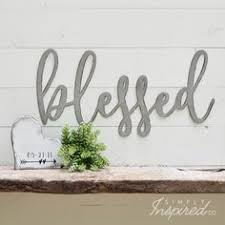 <b>Aloha</b> Recycled <b>Steel Metal Word</b> Quote Wall Sign Rustic Home ...