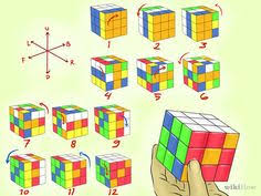 Rubik's Cube Patterns 3x3 Enchanting 48 Best Rubiks Cube Patterns Images On Pinterest Cubes Puzzles And