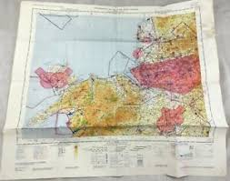 Details About 1966 Vintage Military Map Of North Wales Lancashire Uk Topographical Chart Raf