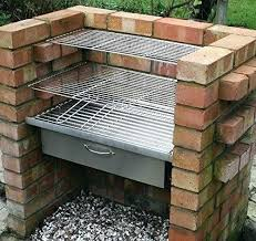outdoor bbq plans brick grill backyard smoker inspirational instruction homemade designs cabinets d outdoor bbq plans