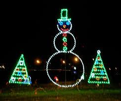 Olin Turville Park Lights Wandering Wisconsin Holiday Lights