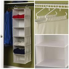 hanging closet organizer. Simple Hanging Household Essentials Hanging Closet With Organizer R