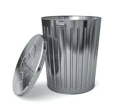stainless steel kitchen trash can. Metal Trash Cans With Lids Stainless Steel Kitchen Can L