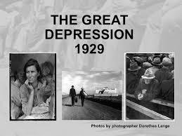 Image result for 1930 Depression-Era in usa