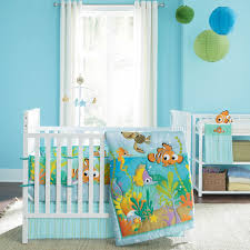 disney nemo s reef 4 pc crib bedding set