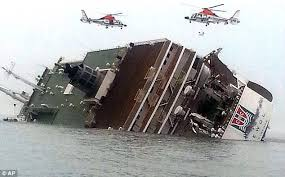 Image result for ship and ferry about to crush