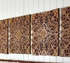 carved wood wall art india wooden tree of life white ornate panel set indian carved wood wall art india