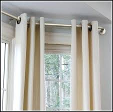 curtains rods ikea continuous curtain rod bay window curtains home design ideas bay window curtain rods