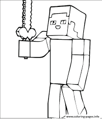 Small Picture remarkable Appealing Minecraft Girl Coloring Pages Print Guy Free