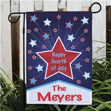 personalized happy 4th garden flag personalized garden flags