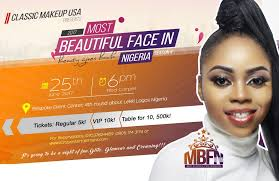 clic makeup usa presents 2017 most beautiful face in nigeria season 4 beauty gives back which sole aim is to promote cultural values among our