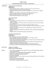 Human Resources Recruiter Resume Resume Template