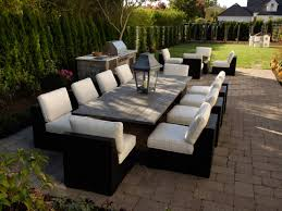 Outdoor Living Room Furniture Furnishing Your Outdoor Room Hgtv
