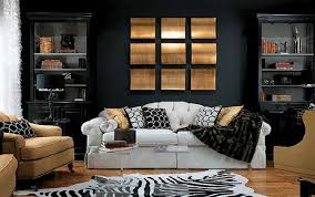 Living Archives House Decor Picture - Black furniture living room