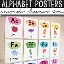 The international radiotelephony spelling alphabet, commonly known as the nato phonetic alphabet or the icao phonetic alphabet, is the most widely used radiotelephone spelling alphabet. Watercolor Alphabet Poster Worksheets Teachers Pay Teachers
