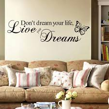 wall word art removable erfly words art vinyl e word wall sticker decal mural home room