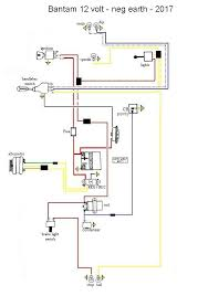 12 volt conversion on a d14 4 d10 d14 and b175 models forum should cost less than £40 and the wiring diagram looks like this
