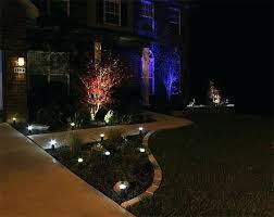 full image for image landscape lighting front yard fixtures low voltage led
