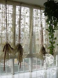 great crochet cafe curtains inspiration with best 25 french
