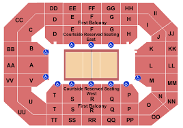 2018 Acc Tournament Seating Chart By School Wisconsin Badgers Vs Indiana Hoosiers Events Sports