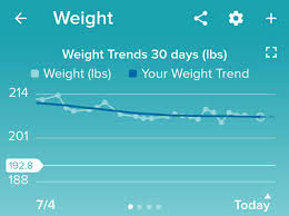 Diet Weight Loss Chart Fitbit Fitness Diet Exercise