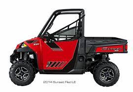 ReadyForce Door Graphics – 2014 POLARIS Ranger XP 900 Sunset Red ...