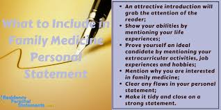 Sample Family Medicine Personal Statement