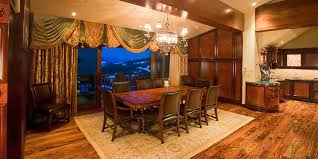 dining room tables san diego ca. a wooden, elegant dining room looking out on snow-capped mountain vista. tables san diego ca g