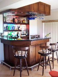 home mini bar mini bar for home with hanging wine glass rack and open shelving mini