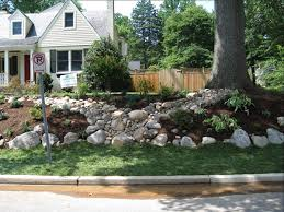 Big Rocks For Garden Chic Large Rock Landscaping Ideas 25 Exciting Rock  Landscaping
