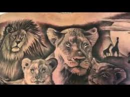 lioness and cubs tattoo. Perfect Cubs Lioness And Cub Chest Piece Tattoo And Cubs Tattoo