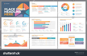 Marketing Charts 2017 Presentation Template Design Business Data Graphs Stock