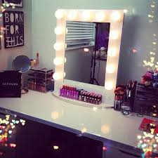 makeup lighting for vanity table. broadway lighted table top vanity mirror from girl hollywood i can dig it with acrylic clear makeup organizers white lighting for e