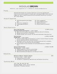 023 Free Cv Template Word Nz Resume Format Sample New