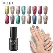 Gel Nail Designs With Diamonds Inagla 30 Color Diamond Shining Glitter Nail Art Design Top