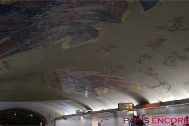 file la sorbonne hall ceiling. Cluny - La Sorbonne Features A Tiled Reproduction Of Les Oiseaux By Jean Bazaine And Signatures File Hall Ceiling