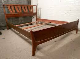mid century modern king bed. Perfect King Mid Century Modern Twin Bed California King Frame  Headboards Throughout